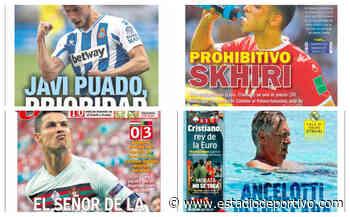 Skhiri, prohibitivo para el Sevilla; Ancelotti, Gasol... Así vienen las portadas del miércoles - estadiodeportivo.com