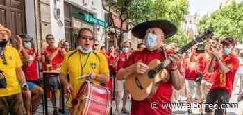 Los aficionados suecos toman el centro de Sevilla - El Correo