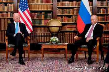The Latest: Putin: Russia, US to return ambassadors to posts