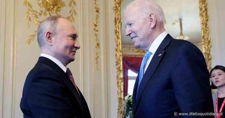 """Vertice Biden-Putin finito dopo tre ore. Leader russo: """"L'incontro è stato costruttivo"""". Trovato accordo per il ritorno degli ambasciatori"""