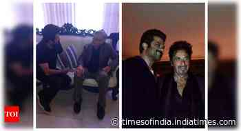 Anil Kapoor shares throwback pictures with Robert De Niro and Al Pacino, calls them the reason he loves b - Times of India