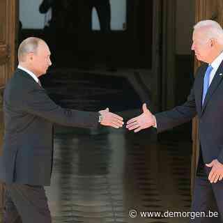 ▶ Poetin noemt gesprek met Biden 'constructief': volg zijn persconferentie hier live