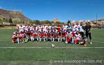 Igualó Parral en la Liga Estatal de Futbol Master 55 años y más - El Sol de Parral