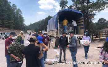 Entregan despensas a comunidades de Guadalupe y Calvo - El Sol de Parral