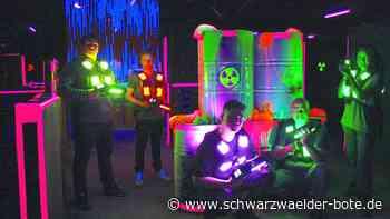 Lasertaghalle eröffnet: 1000 Quadratmeter Spielfläche für Besucher in Schömberg