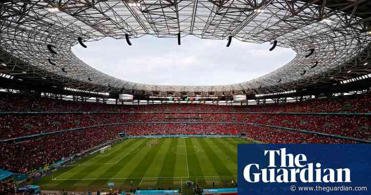 Uefa receives report on homophobic banner at Hungary v Portugal match