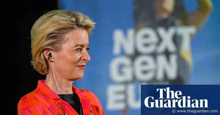 Von der Leyen signs off first of EU's Covid recovery fund plans
