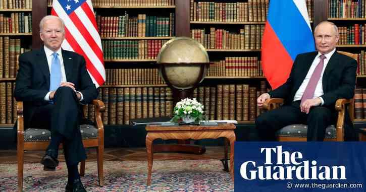 Joe Biden meets Vladimir Putin at Geneva summit –video