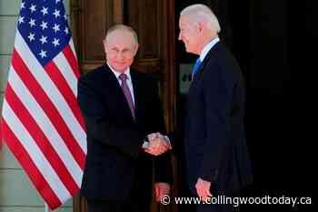 Biden, Putin conclude summit between 'two great powers' - CollingwoodToday