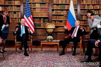 The Latest: Biden-Putin meeting opens with reporters shoving - CollingwoodToday