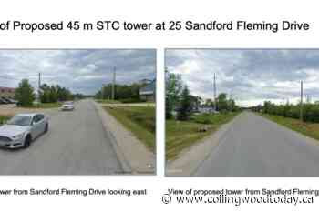 Two cell tower proposals vie for space in Collingwood's east end - CollingwoodToday.ca