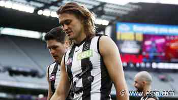 AFL Collingwood Magpies lose Darcy Moore for season to injury - ESPN
