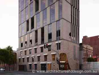 New Collingwood building speaks the local vernacular with brick inlay podium - Architecture and Design