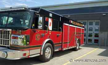 'There's always the what if?': Collingwood fire department rounds out fleet with new truck - simcoe.com
