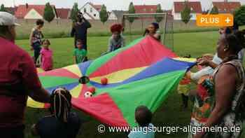So werden in Kissing Flüchtlingsfamilien auf den Kindergarten vorbereitet - Augsburger Allgemeine