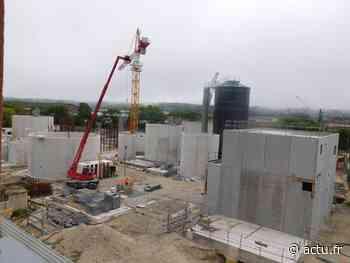 A Dieppe, les nouveaux bâtiments d'Olatein sortent de terre - Les Informations Dieppoises