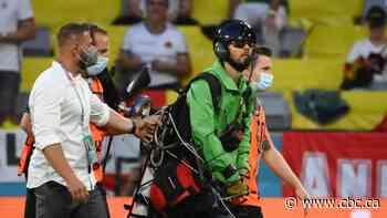Greenpeace apologizes, local police slam Euro 2020 parachute protestor