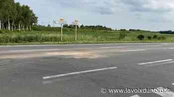 Un motard blessé sur la route entre Seclin et Camphin, au niveau de Phalempin - La Voix du Nord