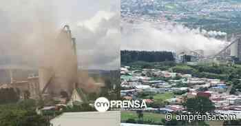 Vecinos de Cartago piden cierre temporal de cementera por nubes de polvo - amprensa.com