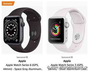 Apple Watch Series 6 and Series 3 on Sale for Up to $79 Off on Amazon - iPhone in Canada