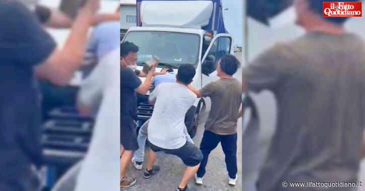 """Prato, operai della Texprint picchiati dai vertici dell'azienda: un lavoratore colpito con un mattone. Sindacato: """"Tre finiti in ospedale"""""""