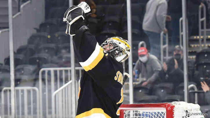 How Bruins Execs Feel About Jeremy Swayman-Dan Vladar Tandem To Start Next Season