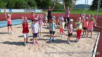 Burladingen - Große Freude bei kleinen Sportlern - Schwarzwälder Bote