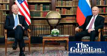 Joe Biden meets Vladimir Putin at Geneva summit – video - The Guardian