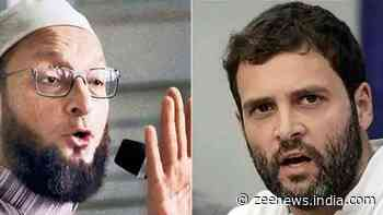 BJP MLA lodges complaint against Rahul Gandhi, Asaduddin Owaisi for `bid to disrupt communal harmony`