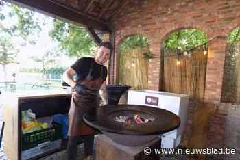 Kok Sieben serveert gerechten van vuurschaal in Bar Bruur