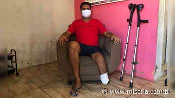 Garçom do Crato faz campanha para custear 9ª cirurgia na perna e evitar uma amputação maior; assista - Site Miséria