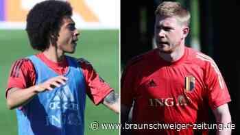 Vor Dänemark-Spiel: De Bruyne und Witsel kehren zurück