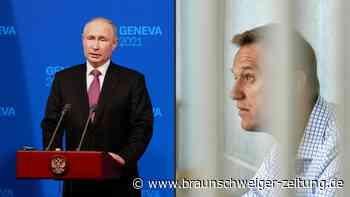 Putin rechtfertigt Inhaftierung von Alexej Nawalny
