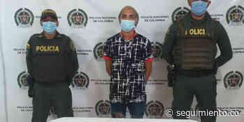 Intimidó a una mujer con cuchillo y fue capturado, en El Banco - Seguimiento.co