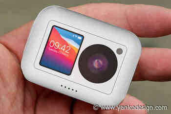 Apple ActionCam with advanced functionality could be GoPro's nemesis - Yanko Design