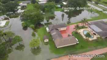 Alerta de inundaciones en el sur de Florida hasta las 8 pm - WPLG Local 10