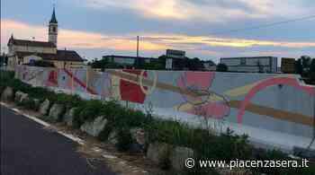 """Lungo la ciclopedonale è nato il primo """"mural"""" di Gragnano - piacenzasera.it - piacenzasera.it"""