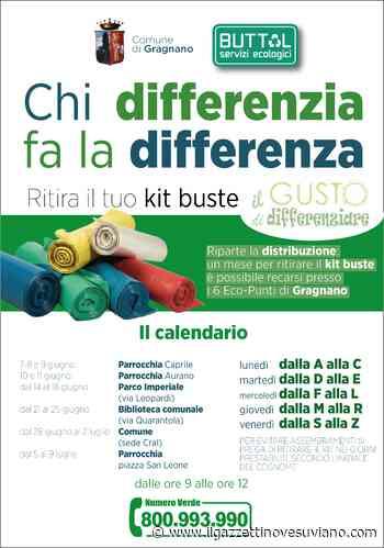 Gragnano, riparte la consegna dei kit buste: distribuzione quartiere per quartiere - Il Gazzettino Vesuviano