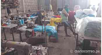 """Incautan más de 2,200 polos """"bamba"""" en taller, en Tumbes - Diario Correo"""