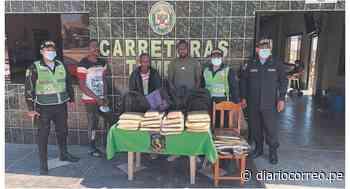Intervienen a 4 personas con droga en equipajes, en Tumbes - Diario Correo