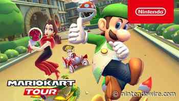 Say bonjour to Artist Luigi in Mario Kart Tour's return to Paris - Nintendo Wire