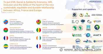 July 7 & 8 2021 from six African cities and Paris 1st Corporate Social Commitment Summit between Africa, Franc - Africanews English