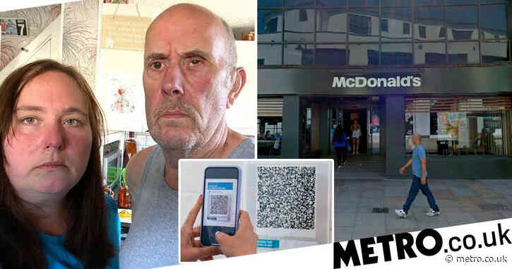 Grandad, 65, turned away from McDonald's for not having smartphone