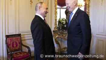 Treffen von Biden und Putin: So lief das Gespräch in Genf