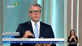 Ricardo Caldas comenta as novas previsões para o PIB brasileiro | Repórter Brasil | TV Brasil | Notícias - TV Brasil