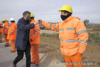 Katopodis y Kicillof recorrieron las obras de la Autopista Presidente Perón - Argentina.gob.ar Presidencia de la Nación
