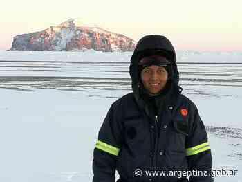 Una ingeniera civil en la Base Petrel - Argentina.gob.ar Presidencia de la Nación