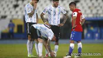 La Copa América vive de la pelota parada - AS Argentina