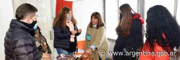 Gabriela Torres visitó la Casa Animí para mujeres trans y diversidades - Argentina.gob.ar Presidencia de la Nación