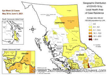 Zero Covid cases in Burns Lake since May 1 – Burns Lake Lakes District News - Burns Lake Lakes District News